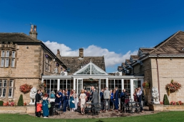 Wedding ar Rogerthorpe manor wedding venue