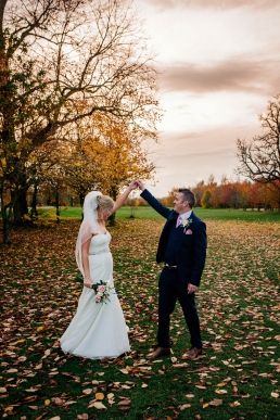 Autumn wedding at Owston Hall in Doncaster